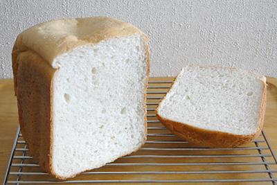 GOPANのてんたかくお米食パンの断面