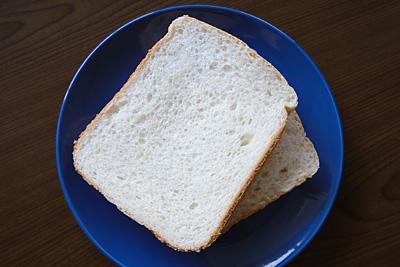 GOPANのてんたかくお米食パンをスライス