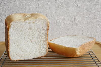GOPANのおかずのいらないかわちのお米食パンの断面