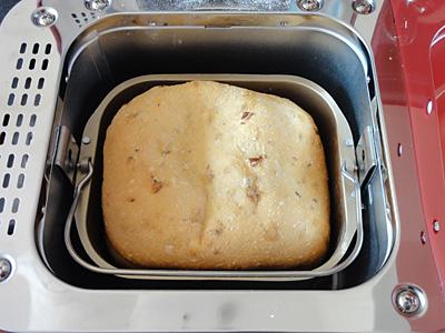 GOPANの干しぶどうお米パンの焼き上がり!