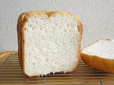 アメリカ米食パンの断面