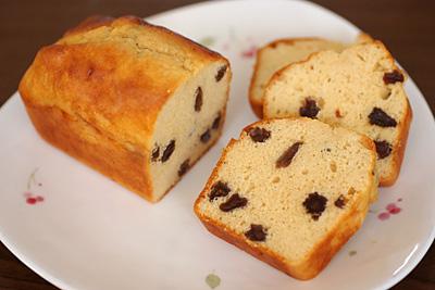 プロテインパウンドケーキ