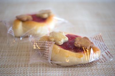 パン屋さんのオリジナル菓子パンみたい