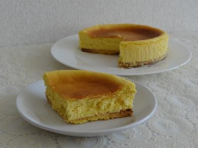コンデジで撮影したNYチーズケーキ