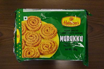 インドスナック「MURUKKU」
