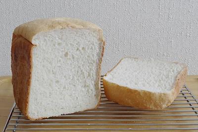 七夕こしひかりお米食パンの断面
