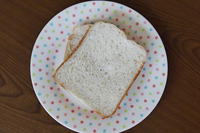 七夕こしひかりお米食パンをスライス