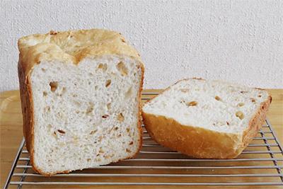 GOPANのナッツ入りお米食パン