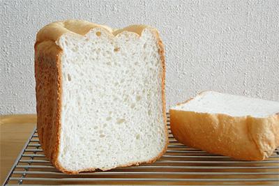 GOPANのまっしぐらお米食パンの断面