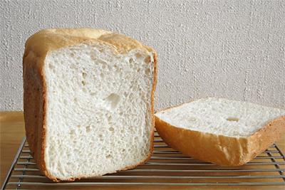 京都丹後米お米食パンの断面