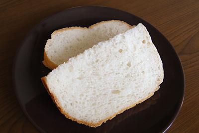 京都丹後米お米食パンをスライス