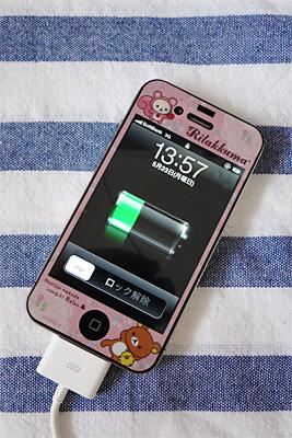 交換したiPhone4