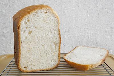 GOPANの小麦ミルク食パンの断面