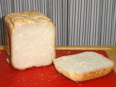 普通に食パンの表情。