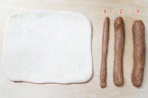 お米パン生地の配分