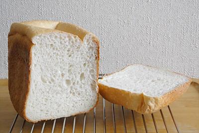 GOPANのミルキークィーンお米食パンの断面