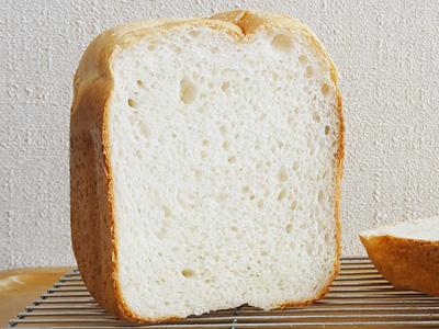 GOPANの夢しずくお米食パンの断面