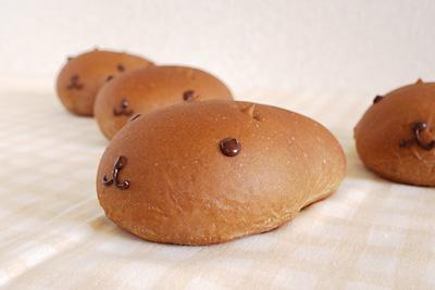 祝7周年!カピバラさん風のチョコロールパン