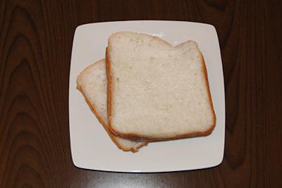 奥出雲仁多米お米食パンをスライス