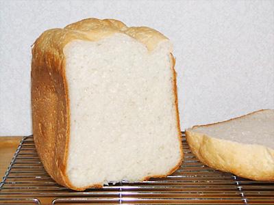 きぬむすめお米食パンの断面