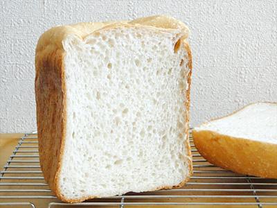 天使の歌お米食パンの断面