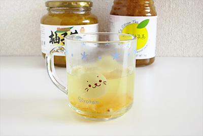 QVCとショップチャンネルの柚子茶をブレンド