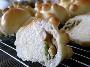 イボイボきのこパン