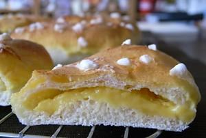 カスタードシュークリームパン