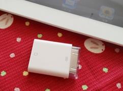 Apple iPad Camera Connection Kitで写真を取り込めばイベントに収録されます