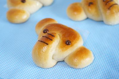 ぞうさんロールパン