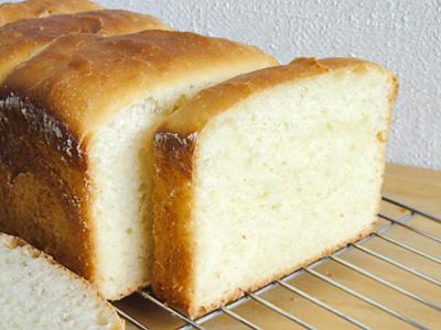 昨年の今日焼いた食パン