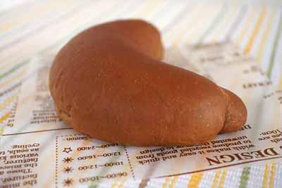 チョコバナナプロテインロールパン