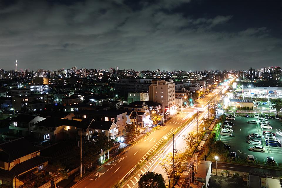 DSC-RX100で撮った夜景