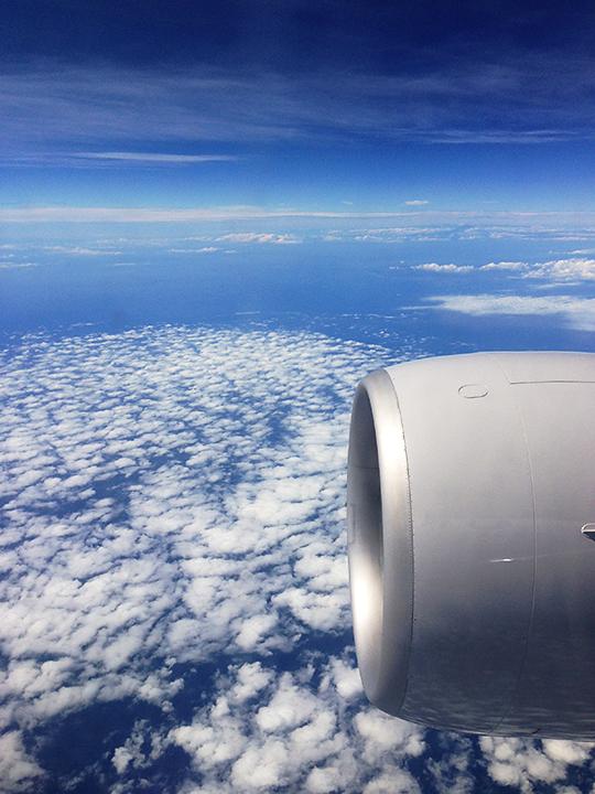 iPhone5で撮った航空写真