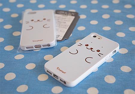 しろたんiPhone5ケース届きました
