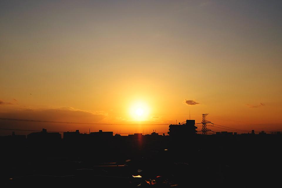 太陽の明るさに階調の豊かさを見ました