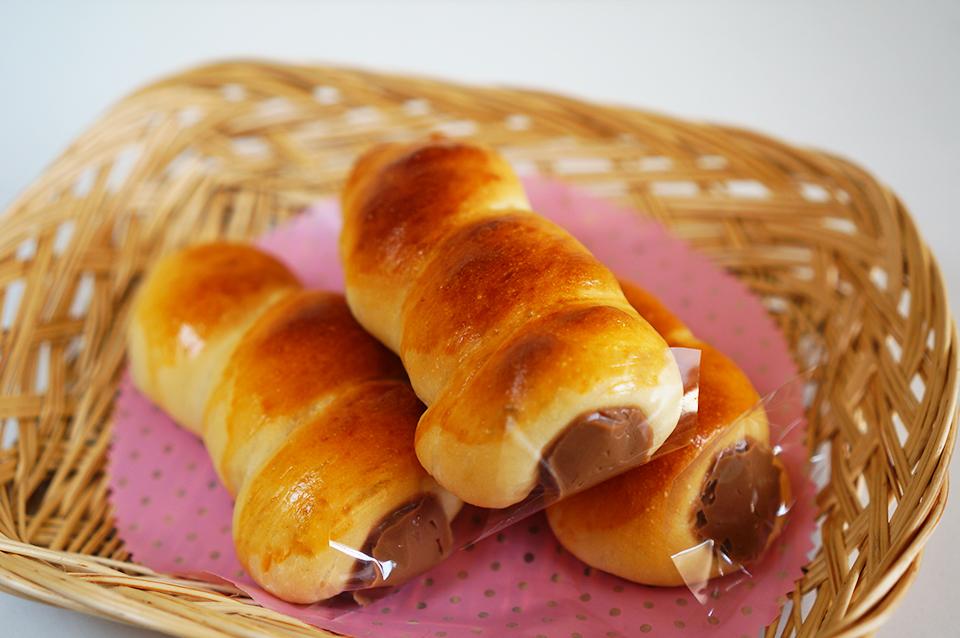 ミルクチョコレートクリームのコルネ