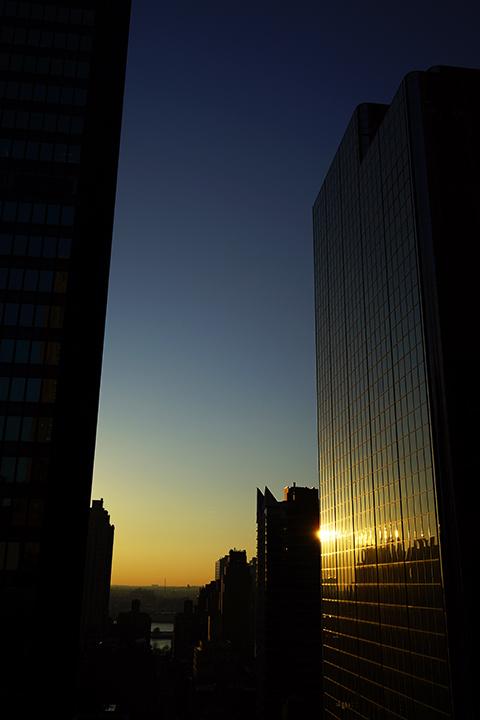 マンハッタンの夜明け