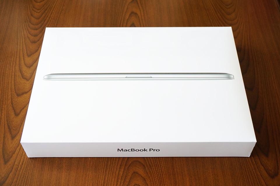 MacBook Proがやってきた