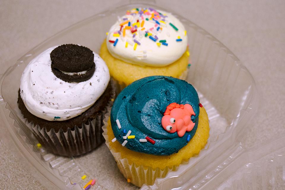 New Yorkのカップケーキ