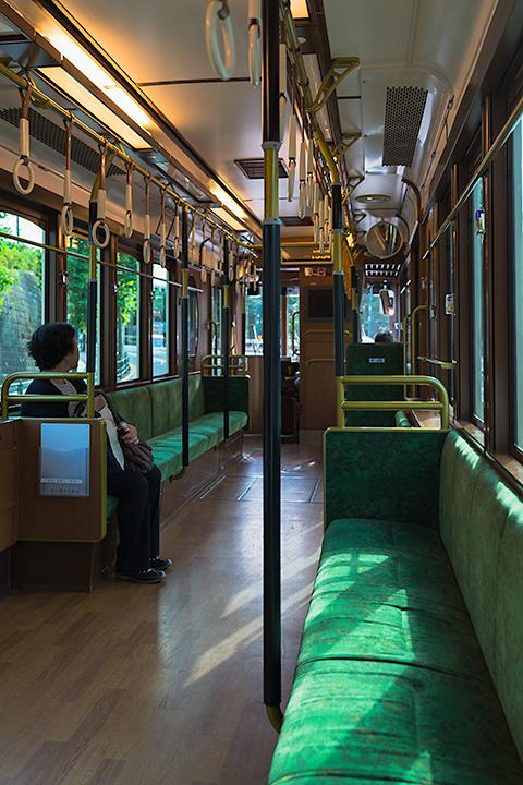 都電のレトロ車両