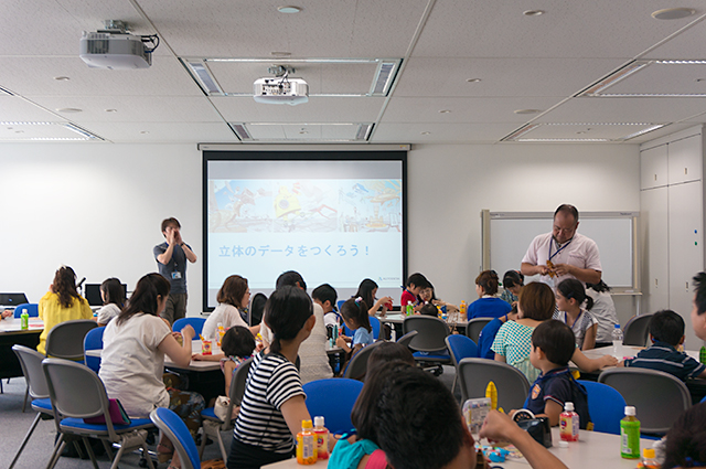 Kids at Autodesk Dayのようす