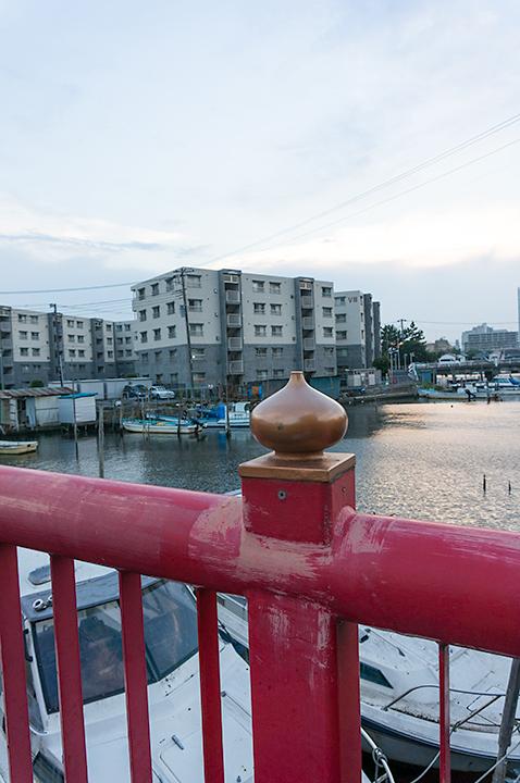 船橋市浜松橋の烏帽子。