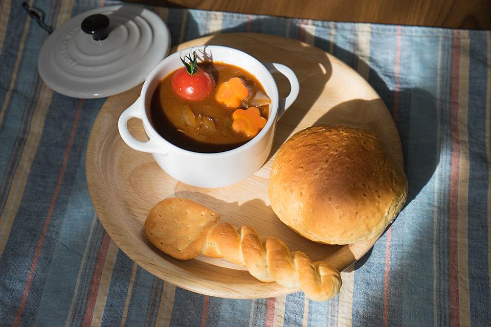 サルバチアパンとスプーンパン