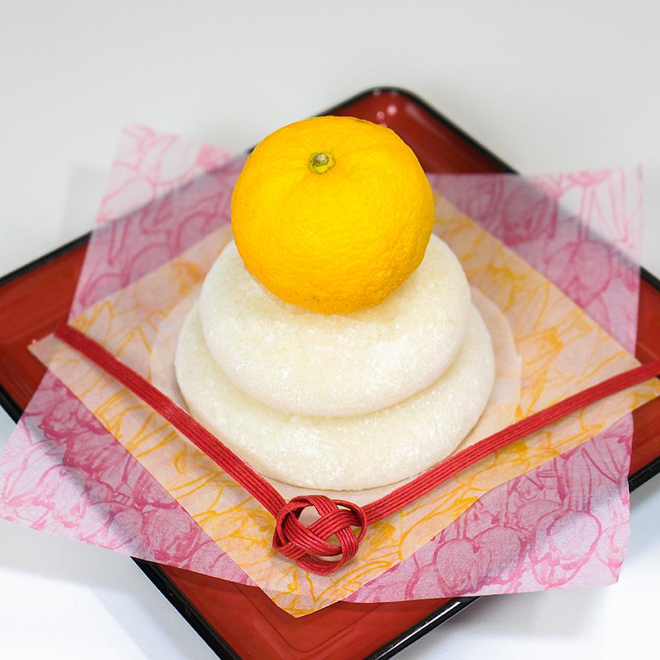 GOPANで作った鏡餅