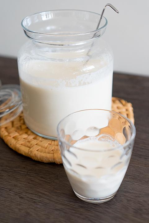 自家製生アーモンドミルク