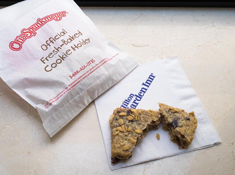 ヒルトン ガーデン イン ニューヨークのシリアル風クッキー