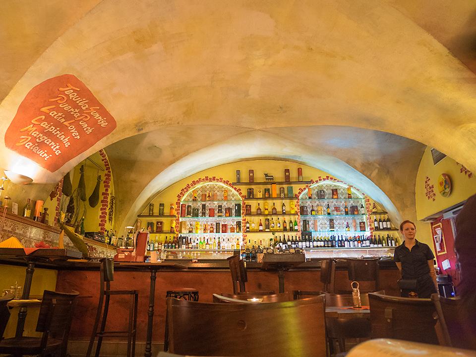 スペイン料理のお店。