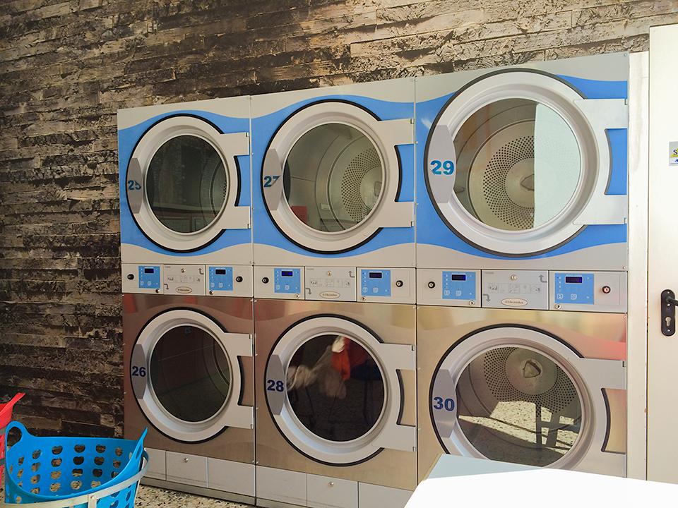 乾燥機は6台。