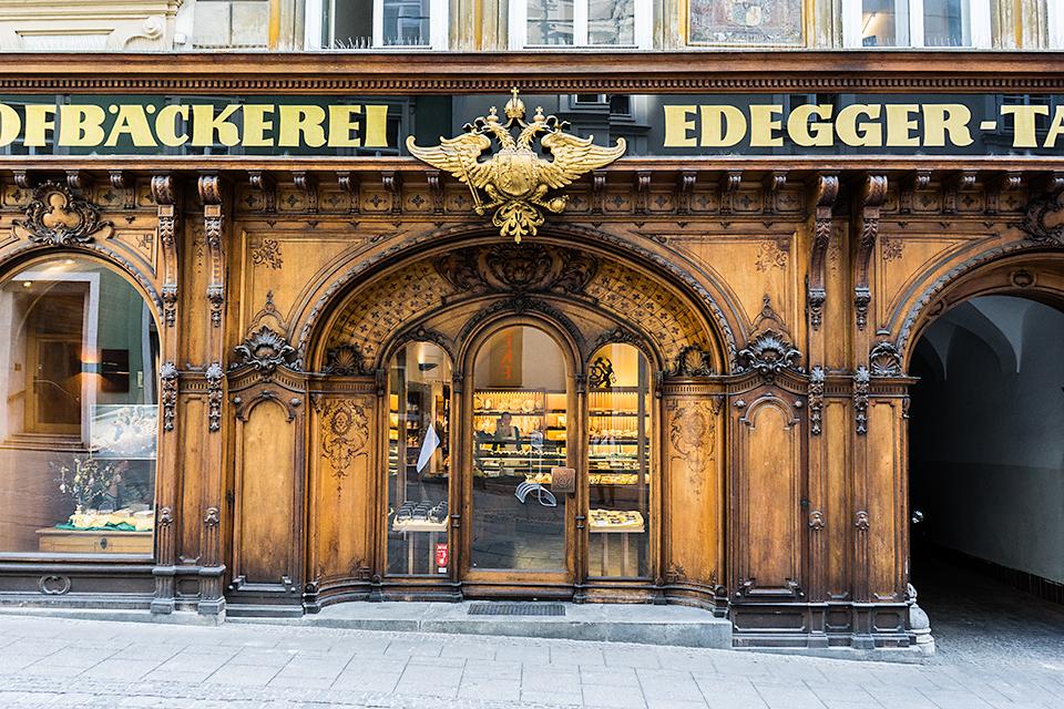 宮廷御用達の老舗のパン屋さん「Hofbäckerei Edegger-Tax」
